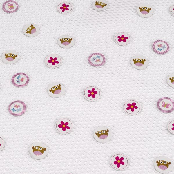 Little Owls Pink Table Confetti (14g)